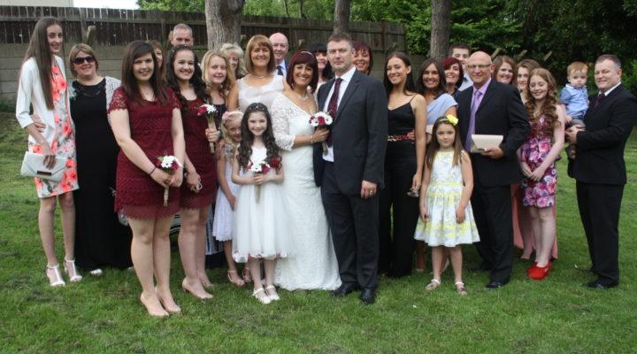 Jim & Tina's Wedding Day