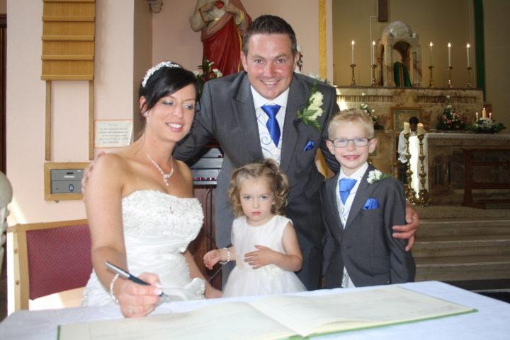 Sam & Rhys Wedding Day