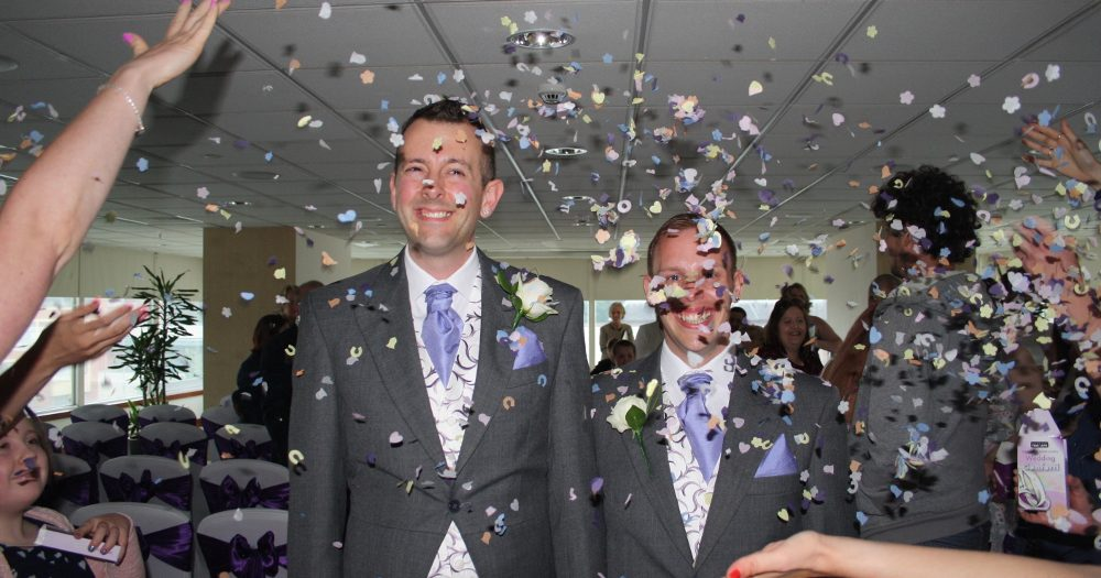 Neil & Jay's Wedding Day