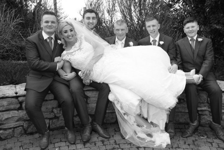 Grainne & Frankie Wedding Day